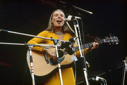 Joni Mitchell at the